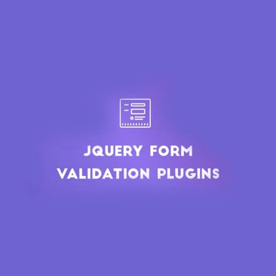 jQuery Form Validation Plugins