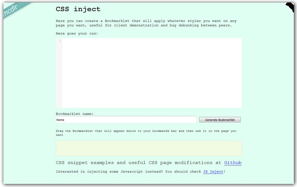 CSS Inject