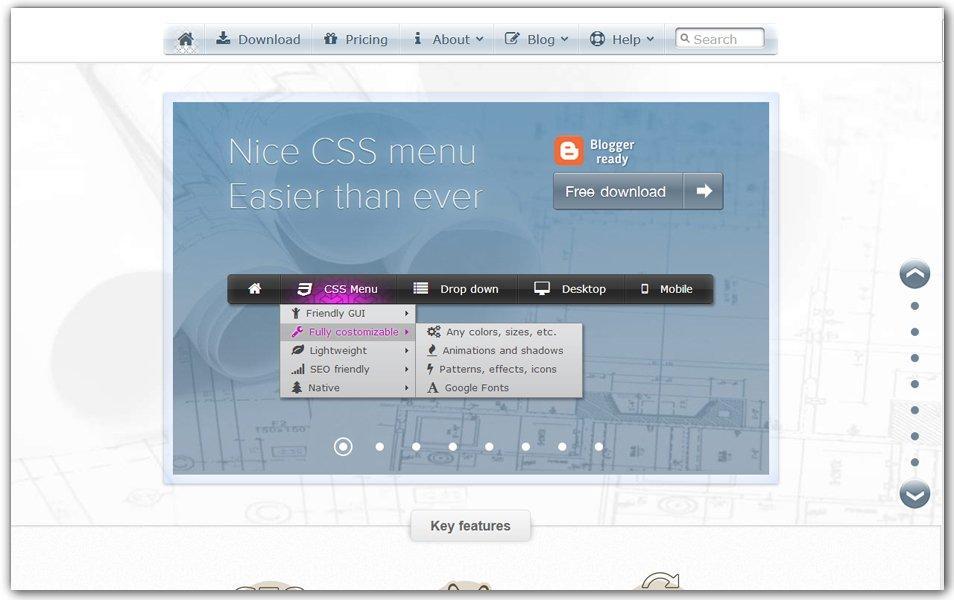 CSS Menu | Swimbi
