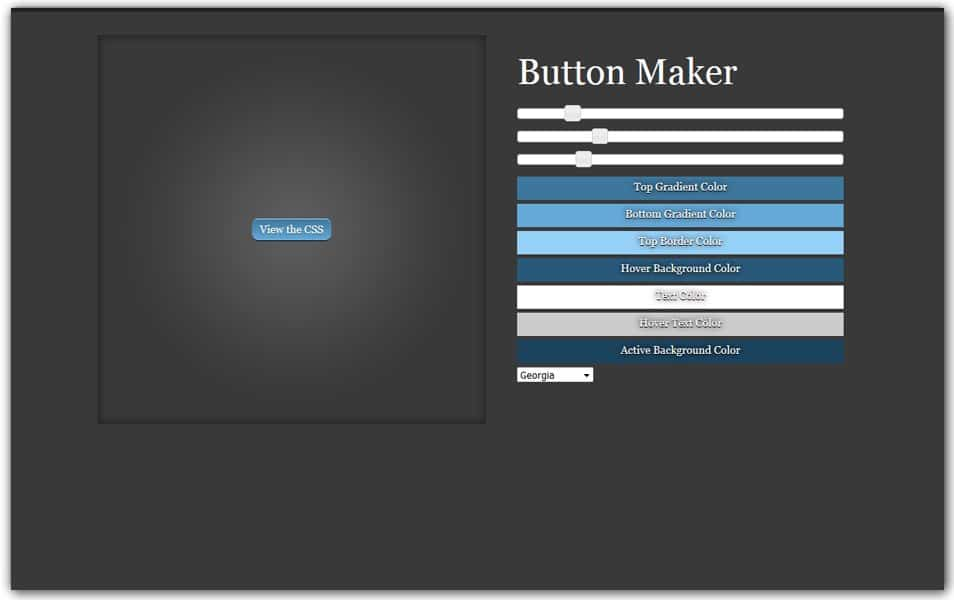 CSS3 Button Maker | CSS-Tricks