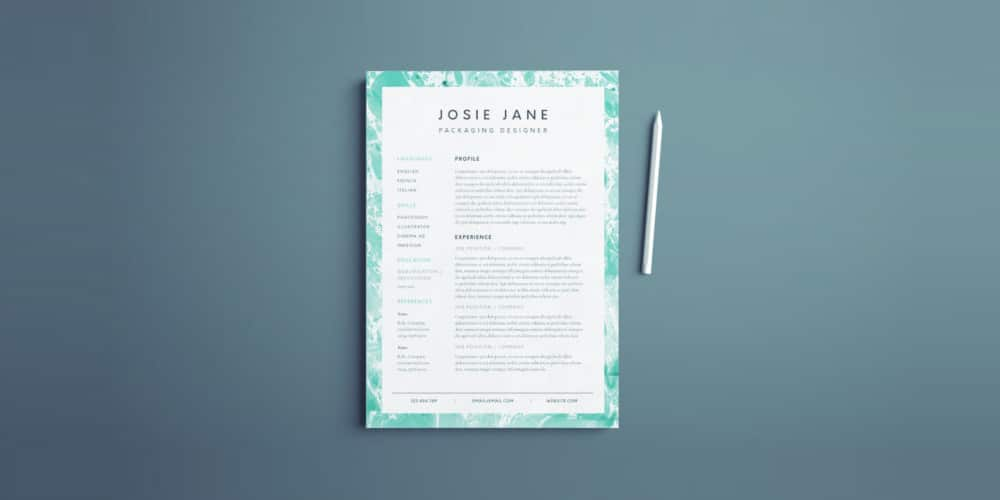 Creative-Resume-Template