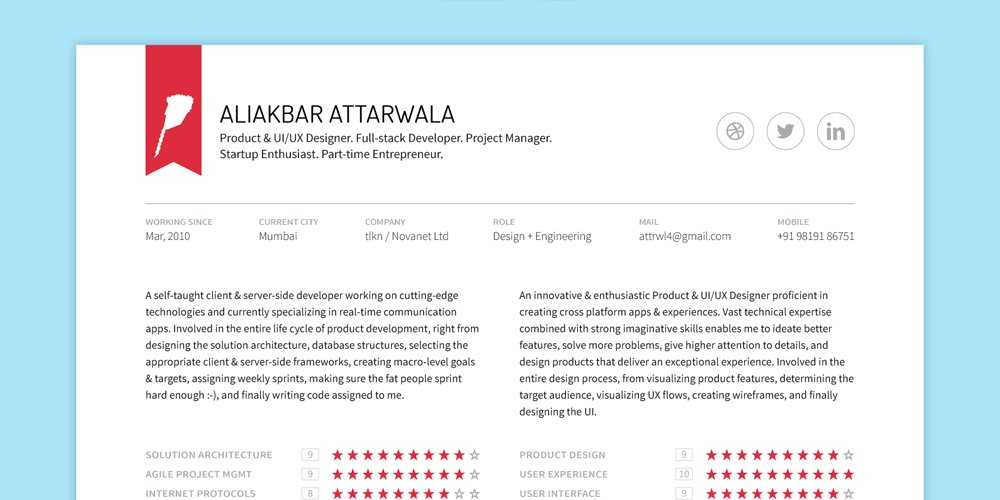 150 Free Resume & CV Templates | Pixxel