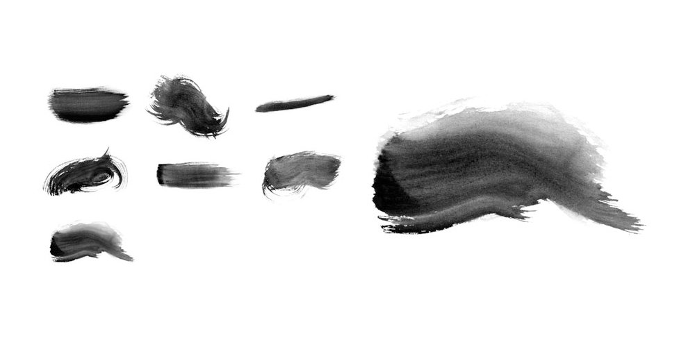 Free High-Res Watercolour Photoshop Brushes