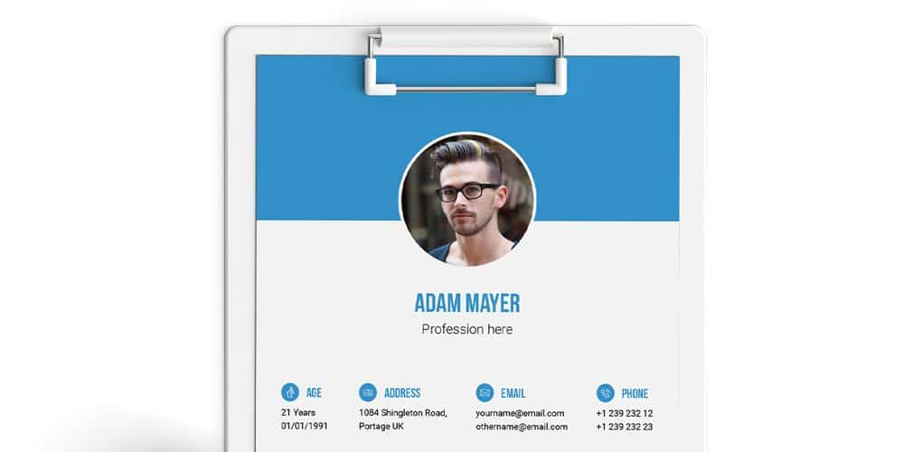 Free-Multipurpose-Resume-Template