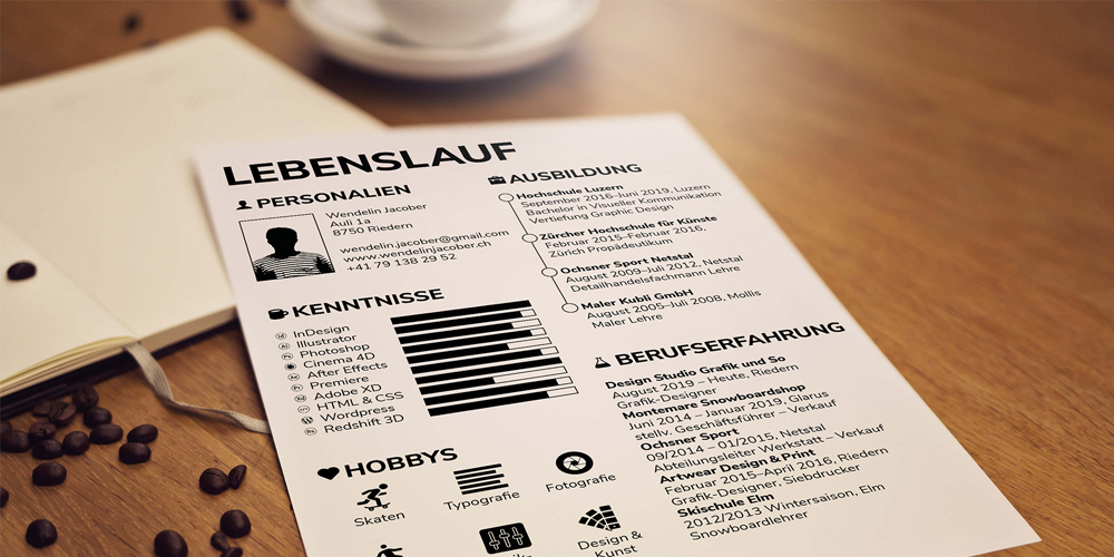 Free Resume CV Indesign Template
