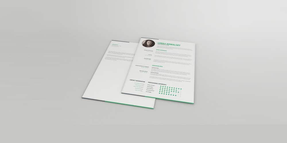 Free Simple Resume/CV Template
