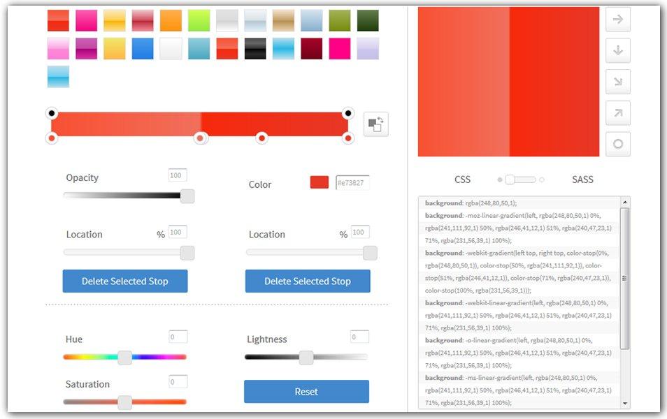 Gradient CSS Generator | CSSmatic