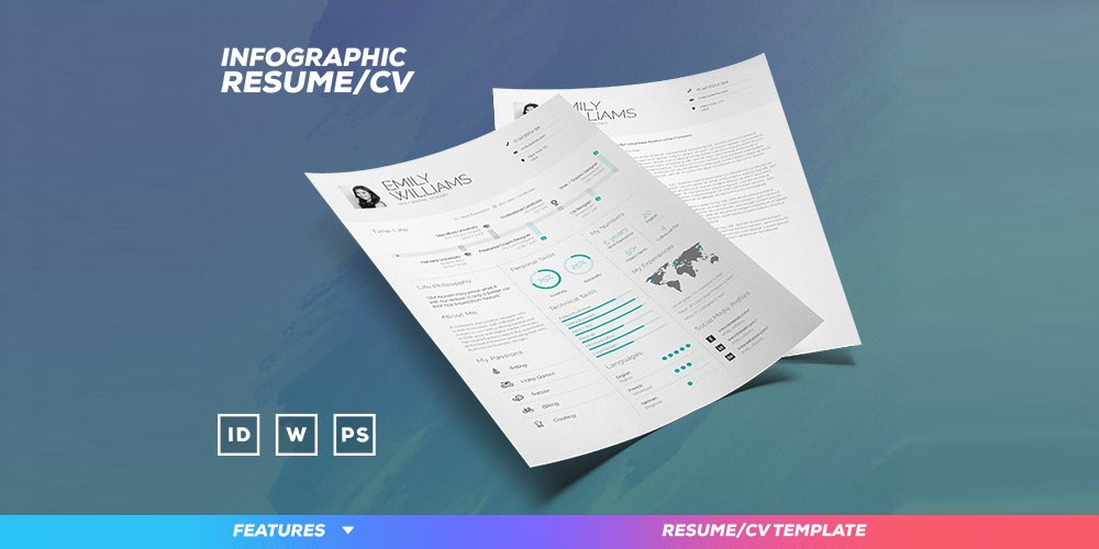 Infographic-Resume-Template