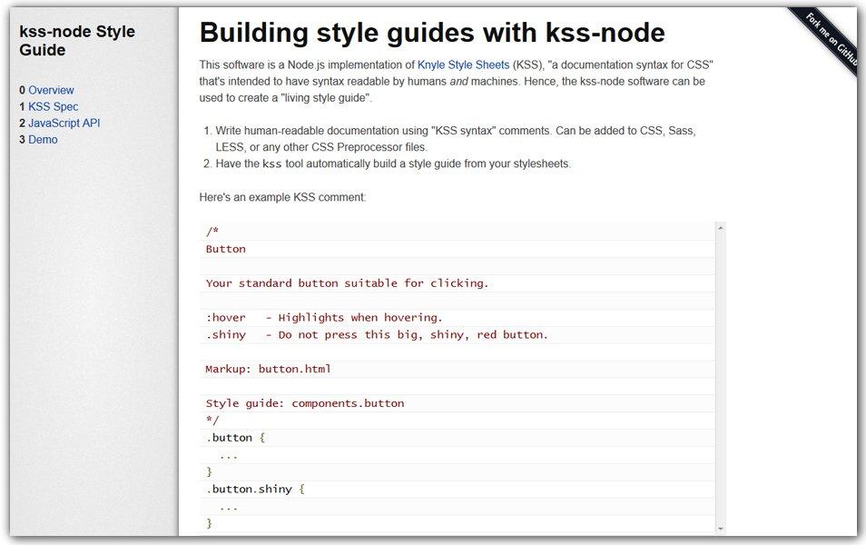 KSS Node Style Guide