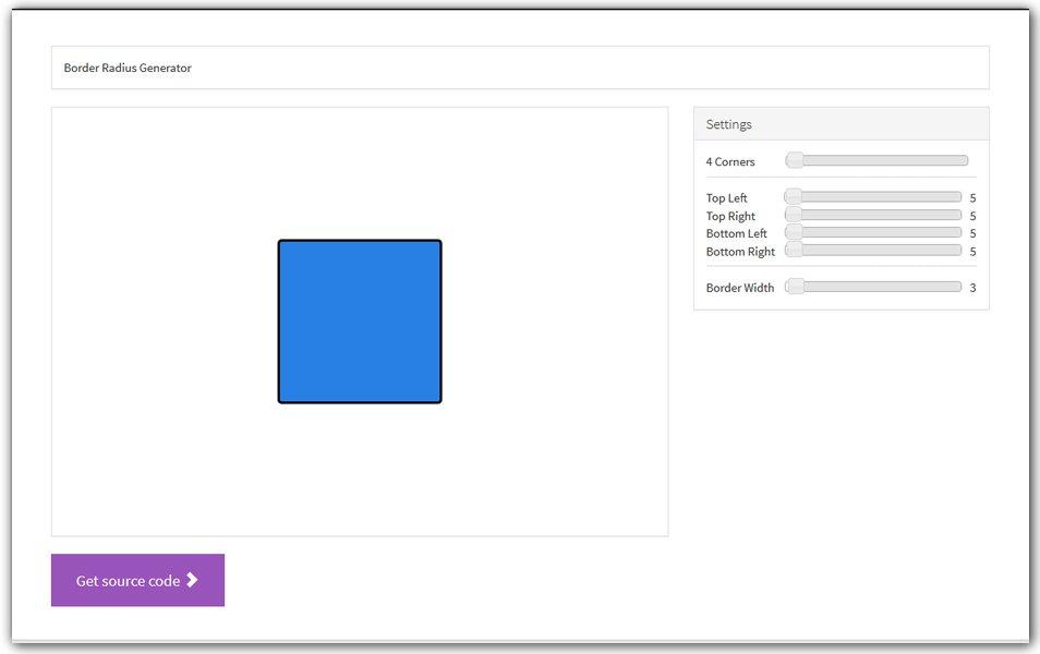 Online CSS Border Radius Generator | Ui RockStar