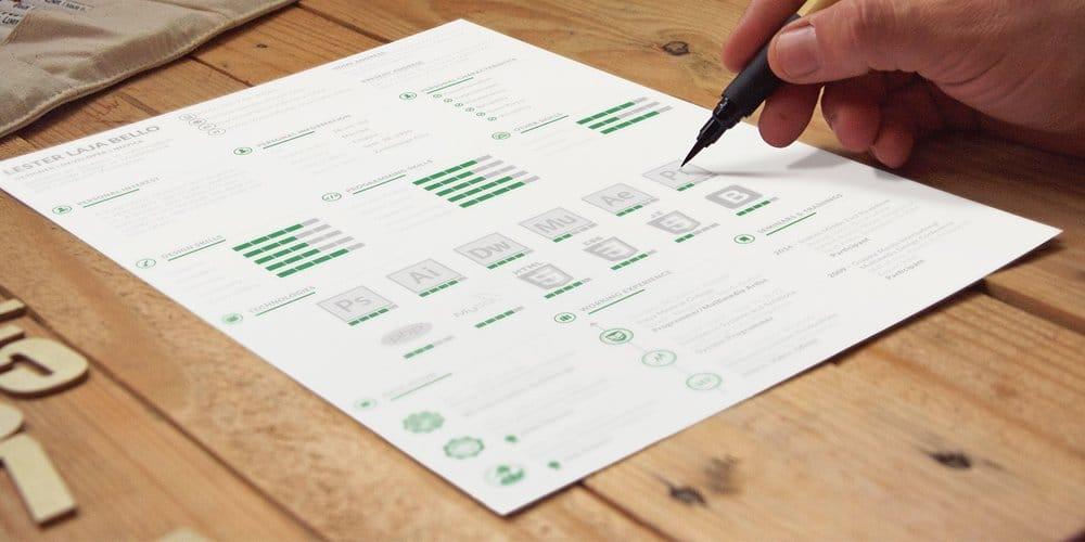 طرح های شخصی و رزومه CV الگو آیکن