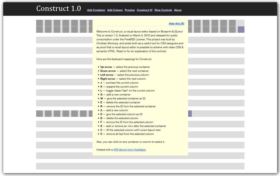 WYSIWYG Layout Editor
