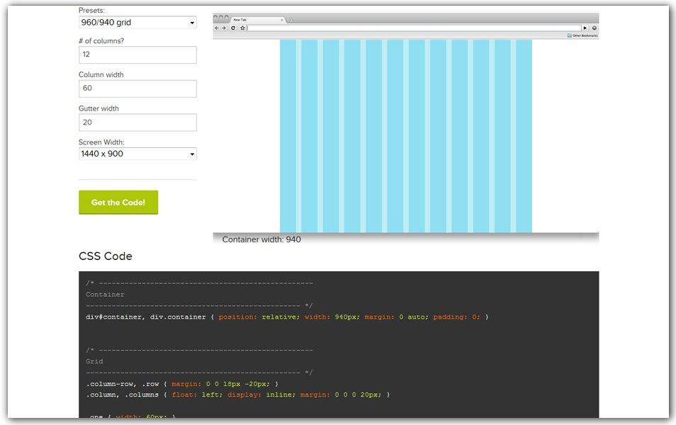 ZURB CSS Grid Builder