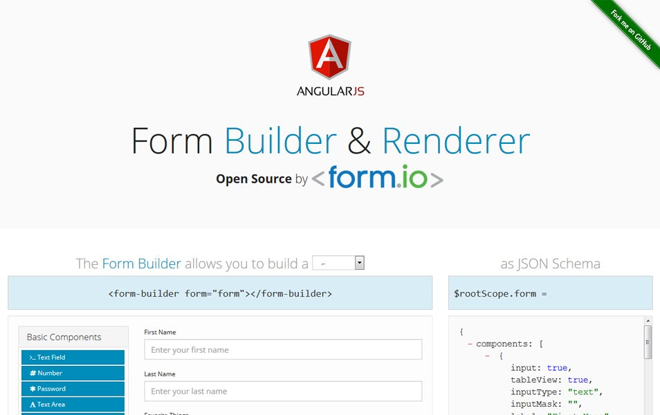 Form IO Form Builder