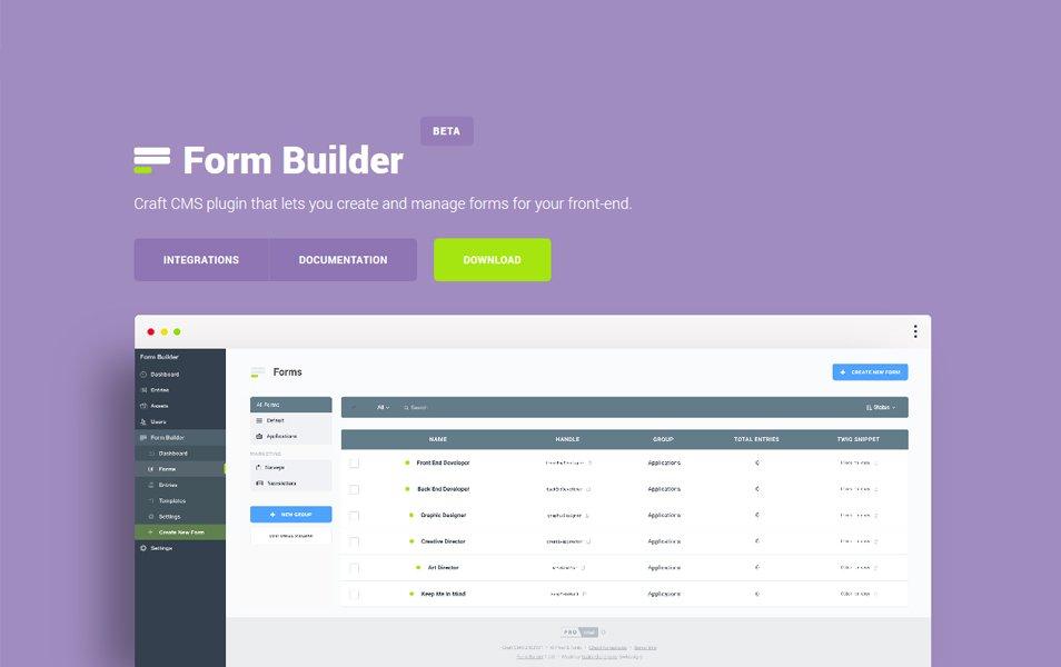 FormBuilder 2