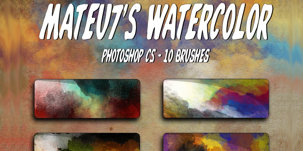 Mateu7s Watercolor Brushes