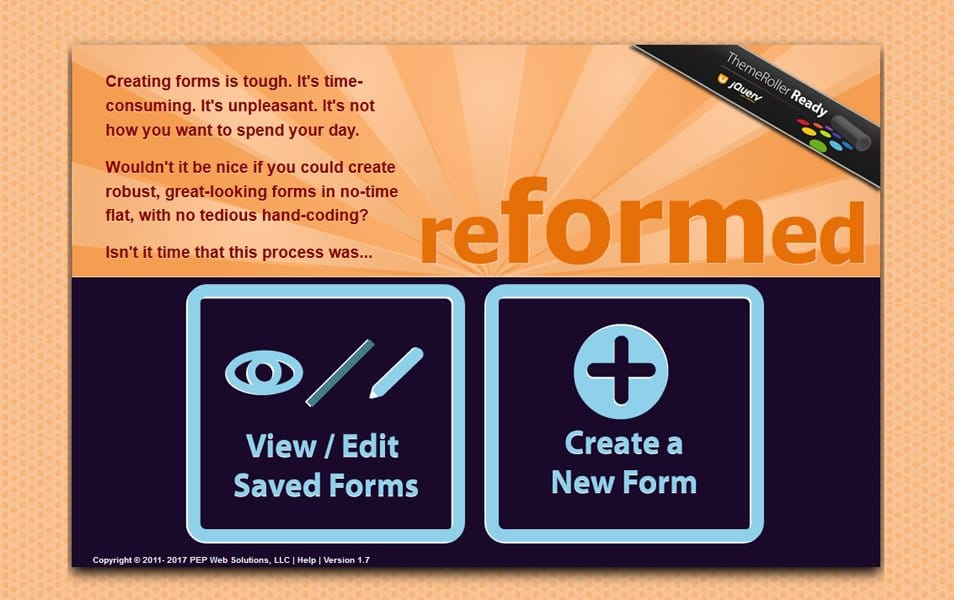 Reformed Form Builder