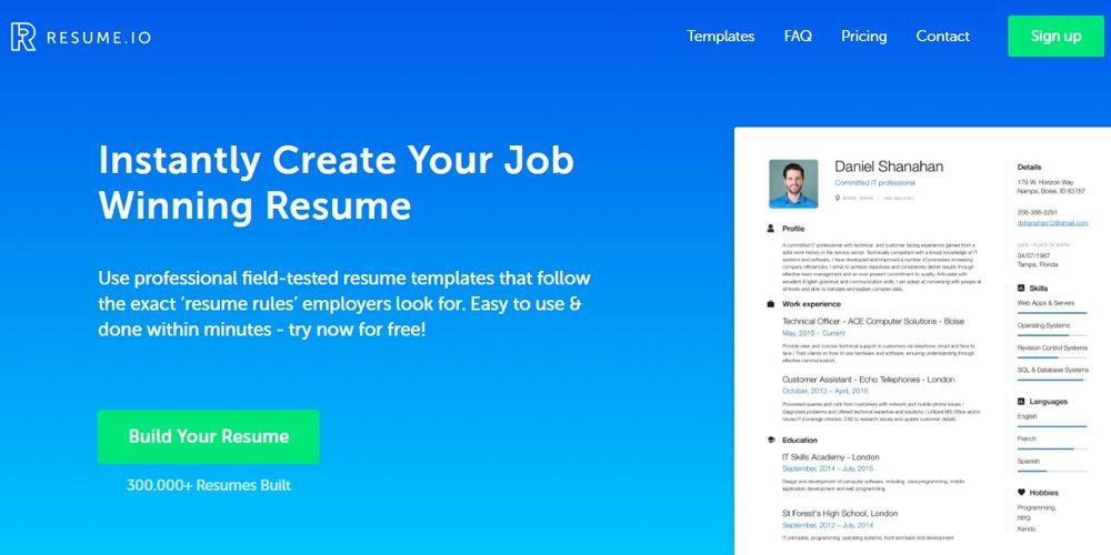 pongo resume writing