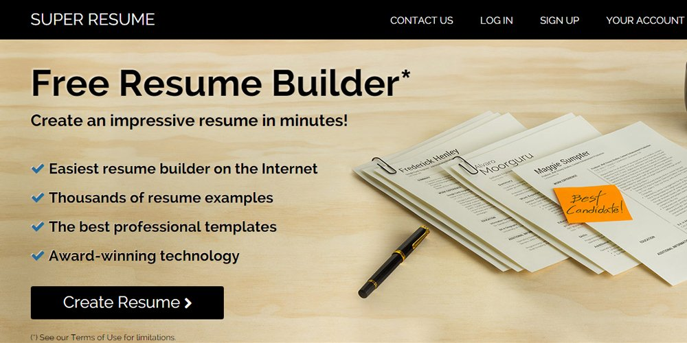 best online resume builders free  u0026 premium  u00bb css author