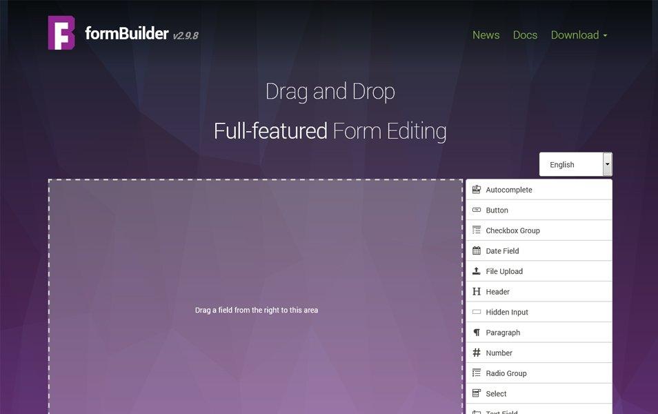jQuery formBuilder