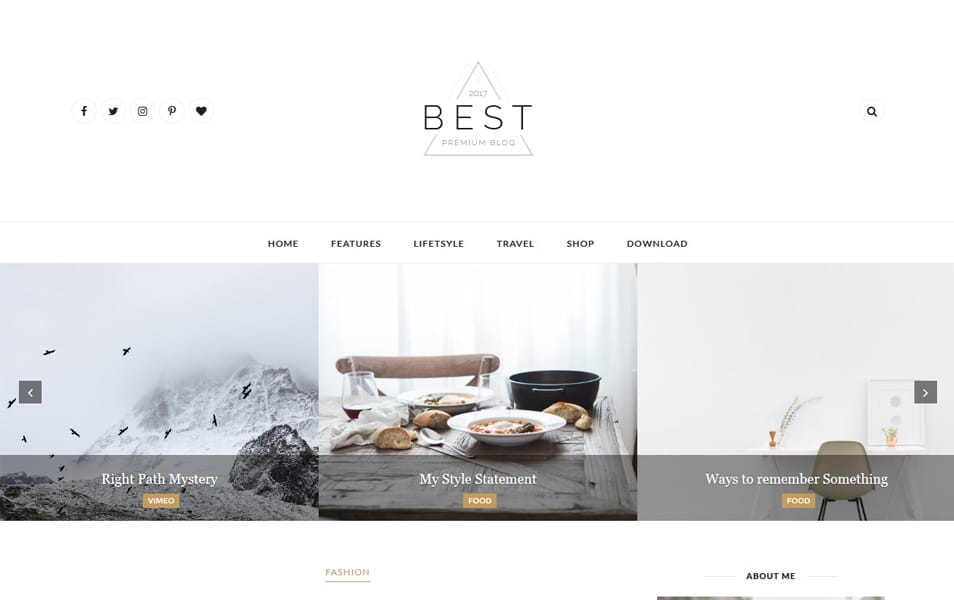 Best Responsive Blogger Template
