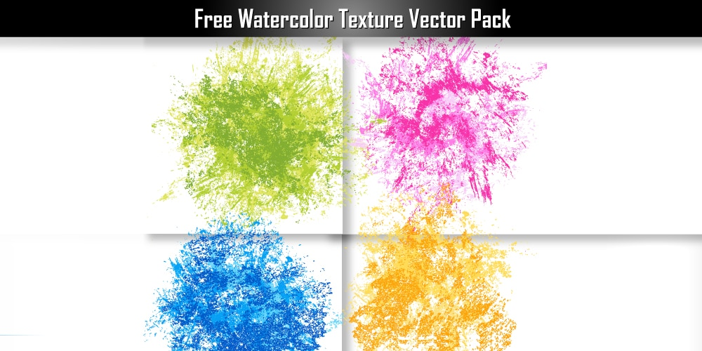 Free Watercolor Texture Vector