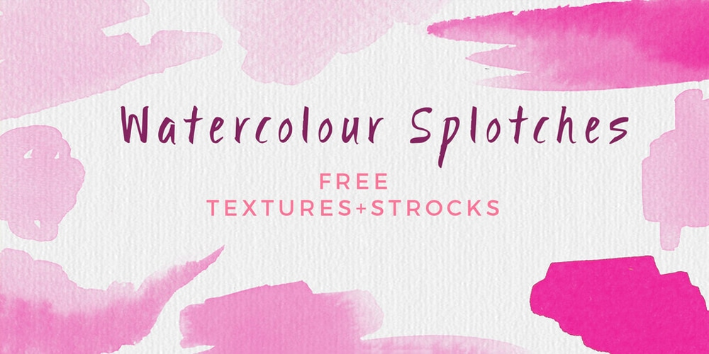 Free Hand Painted Watercolour Backgrounds