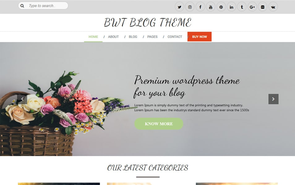 Multipurpose Blog