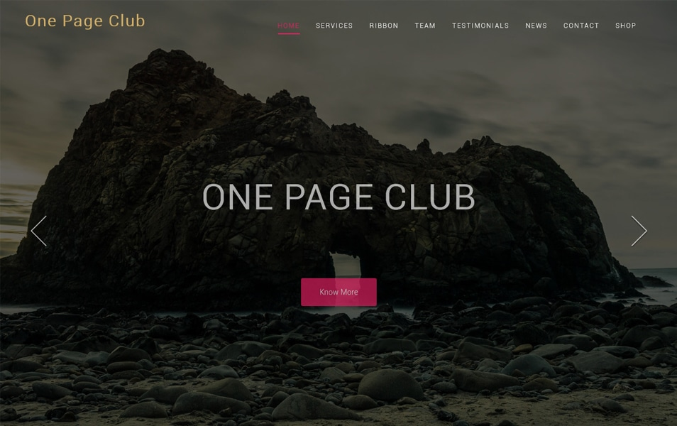 One Page Club