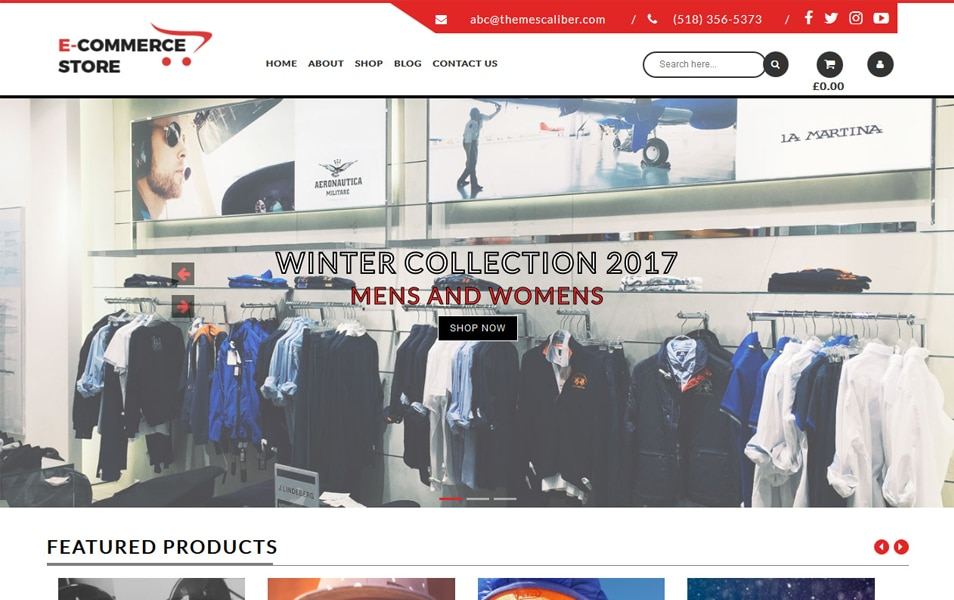 TC E-Commerce Shop