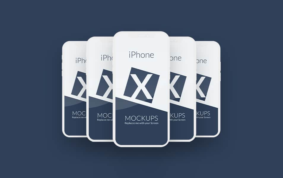 Free Iphone X Mockup PSD