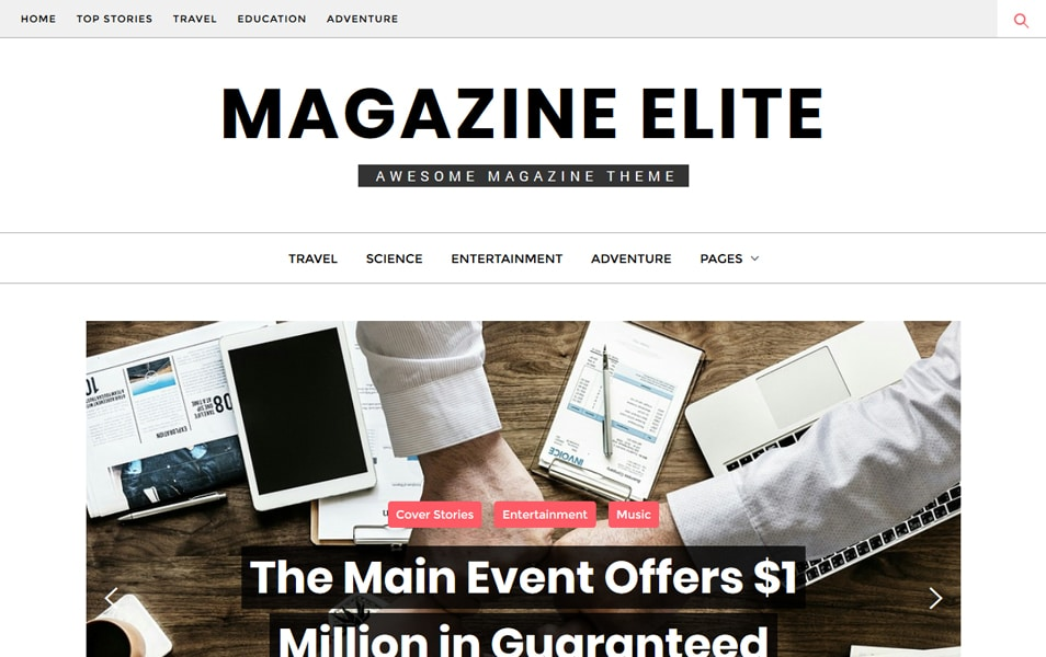 150 Free Responsive Magazine Wordpress Themes 2019 Css Author