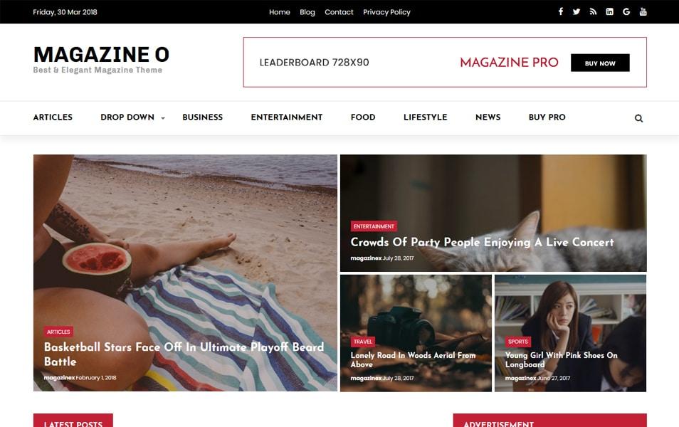 300+ Best Responsive WordPress Themes 2019 » CSS Author