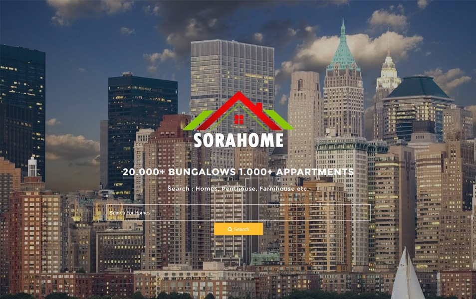 Sora Home Responsive Blogger Template