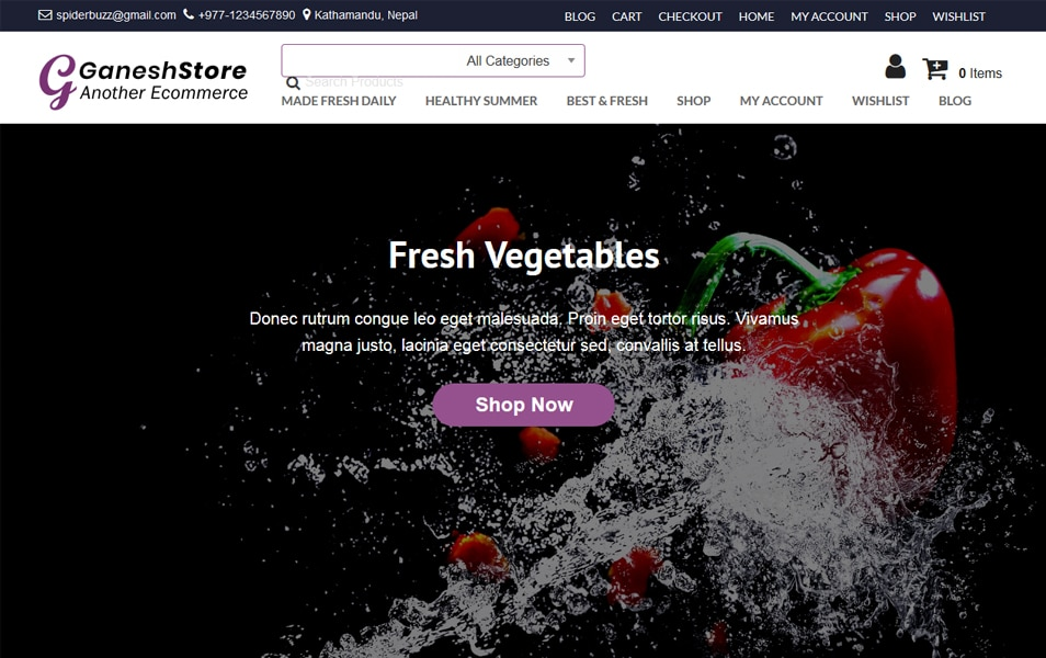 100+ Free ECommerce WordPress Themes 2019 » CSS Author