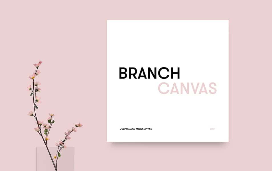 Branch Canvas Mockup