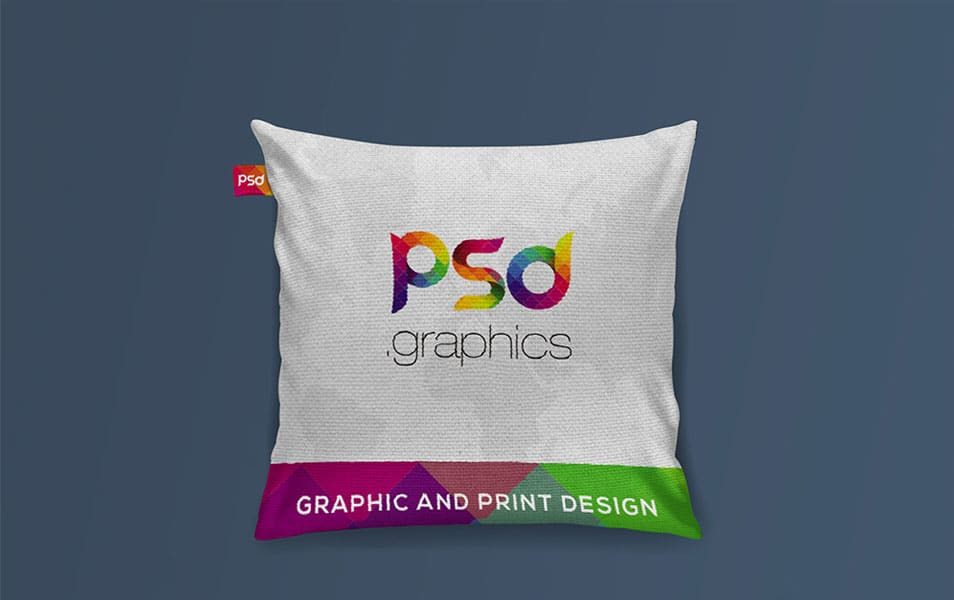 Cushion Mockup Free PSD