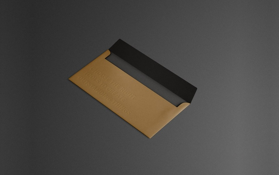 Envelope C5/6 Mock Up