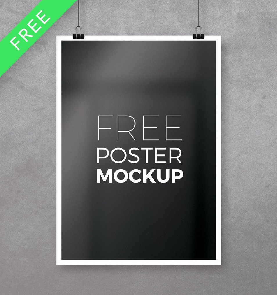 Free Multipurpose Photoshop Poster Mockup