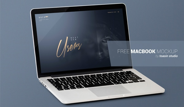MacBook Mock-Up PSD