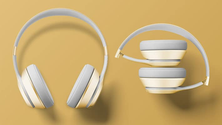 Beats Headphones Free PSD Mockup