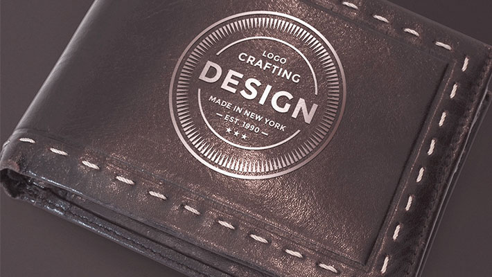 Leather Wallet Mockup