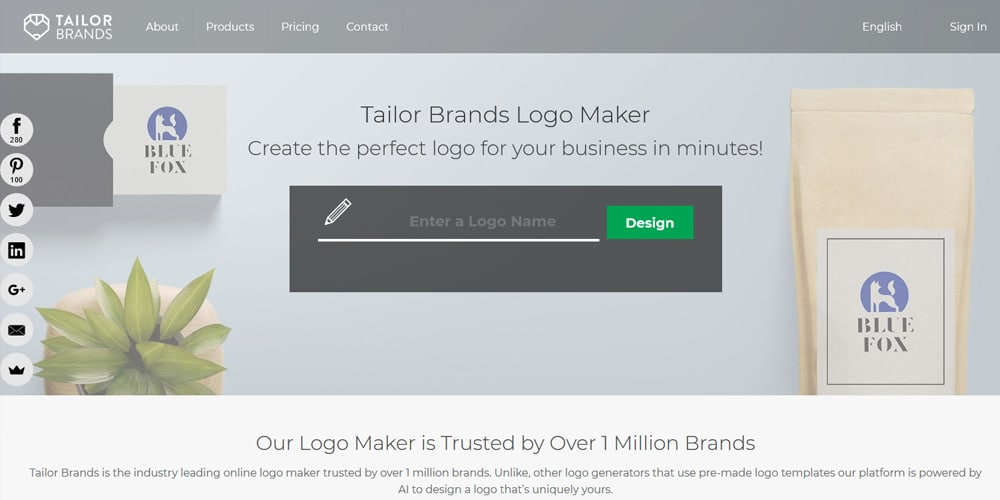 Tailor Brands Logo Maker