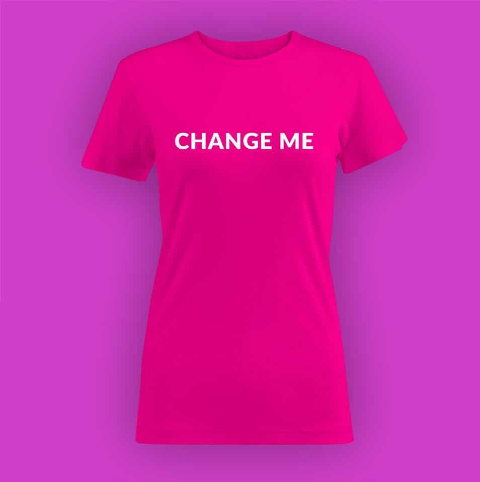 Womens T-shirt PSD Mockup CSS Author