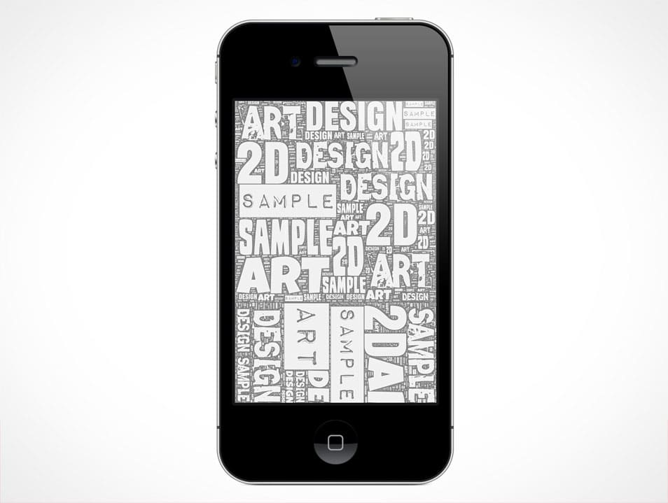 iPhone 4 and 4S Mockup PSD
