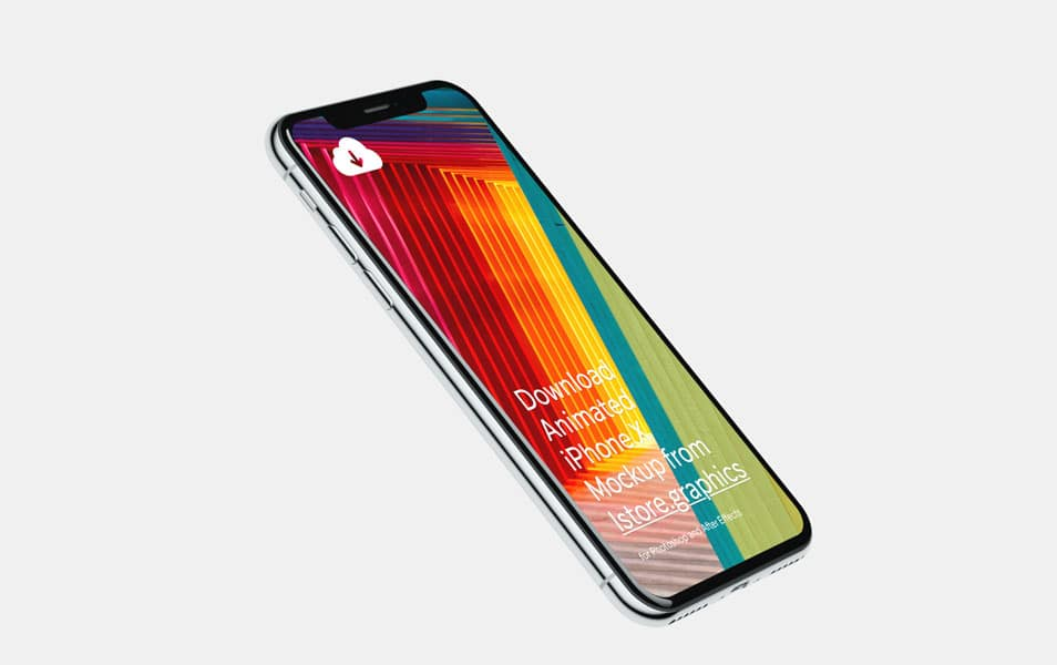 iPhone X Mockups 4k Resolution