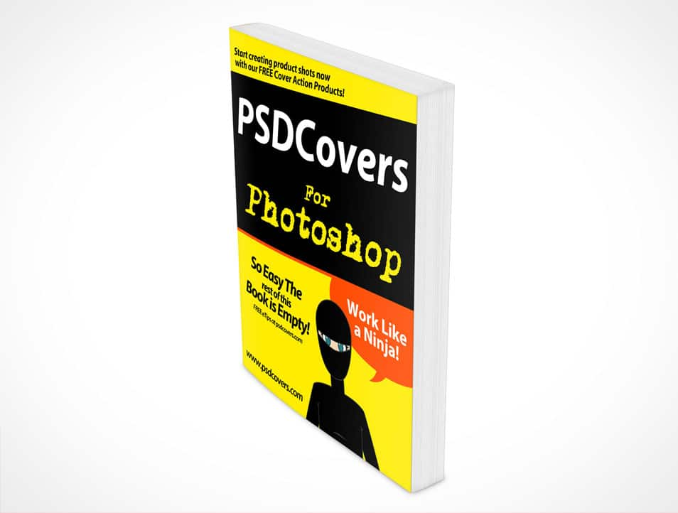 Softcover Book Mockup PSD