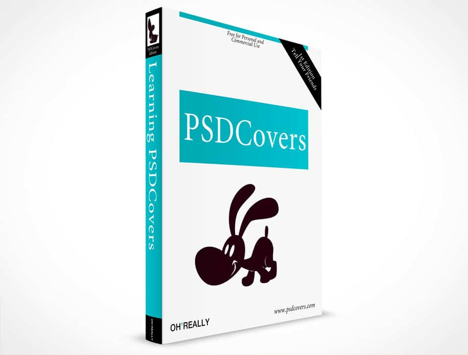 Softcover Book PSD Mockup