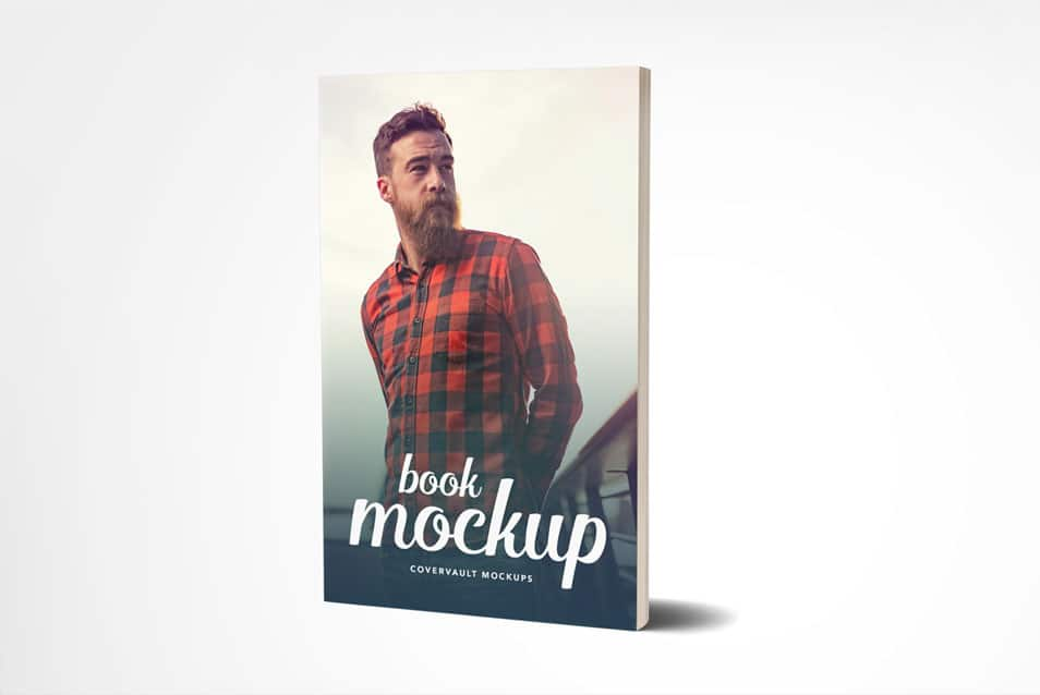 5 x 8 Paperback Book Mockup with Fewer Pages