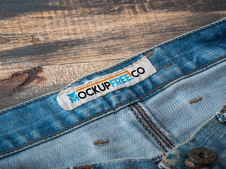 Apparel Tag PSD Mockup